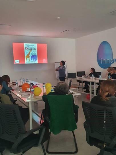 Partibridges Workshop on Social Integration in Eskisehir, Turkey