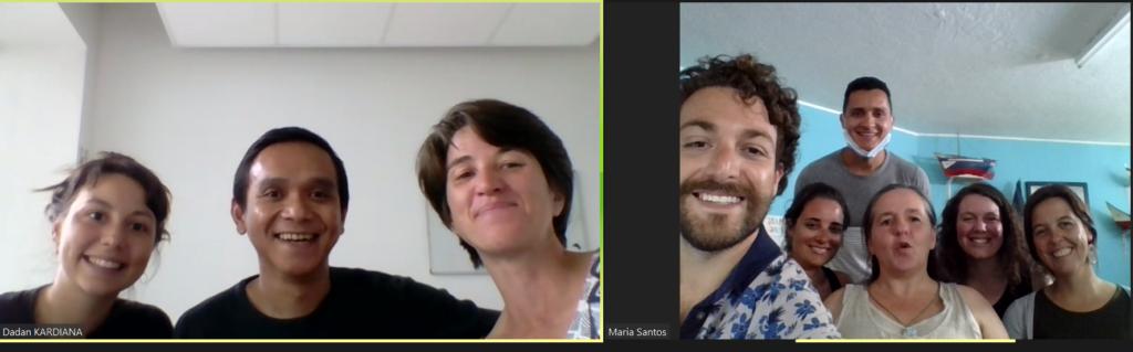 O2 Encontro 11 – Encontro Online internacional com os coordenadores do projeto Partibridges