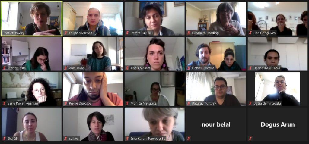 Terceiro dia do Encontro Internacional Partibridges online