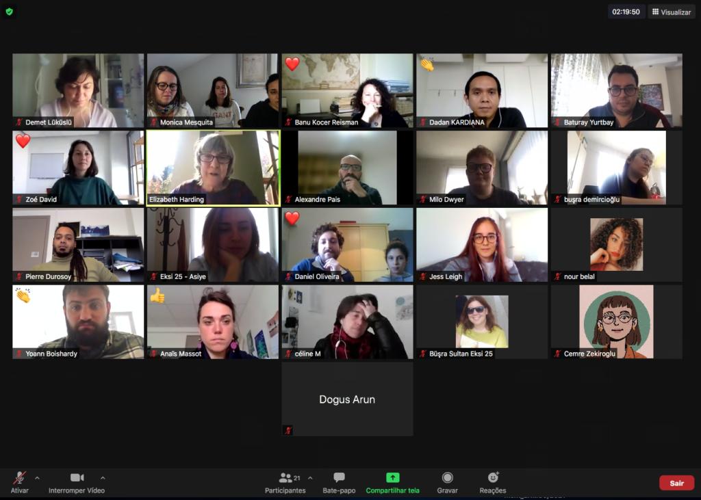 Quarto dia  do Encontro Internacional Partibridges online